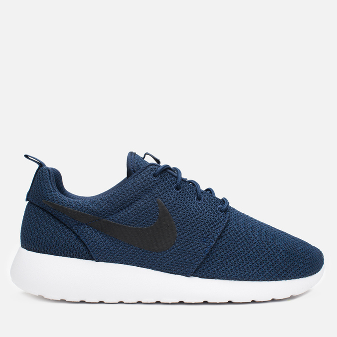 Мужские кроссовки Nike Roshe One Midnight Navy/Black/White
