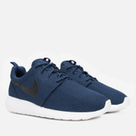 Мужские кроссовки Nike Roshe One Midnight Navy/Black/White фото- 1