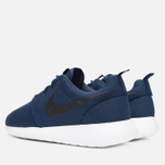 Мужские кроссовки Nike Roshe One Midnight Navy/Black/White фото- 2