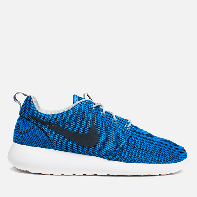 Мужские кроссовки Nike Rosherun Photo Blue/Anthracite