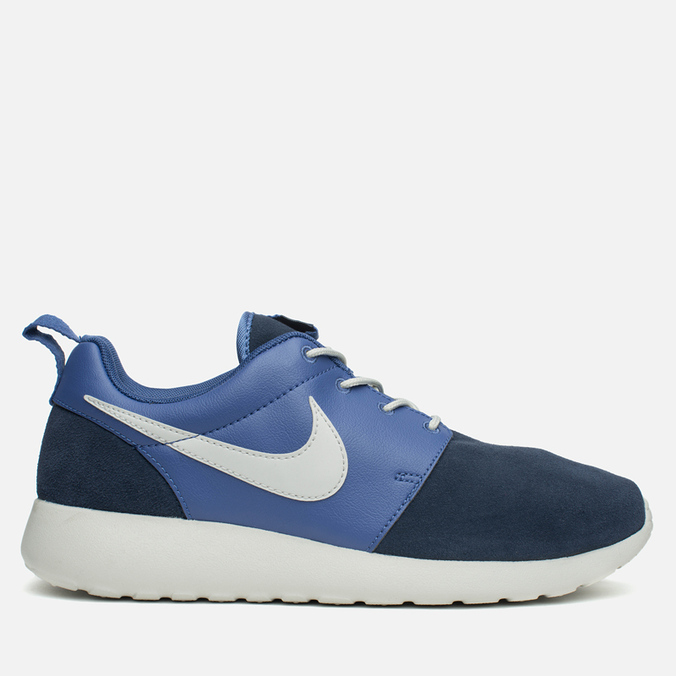 Nike Rosherun Premium Men's Sneakers Blue Legend/Obsidian