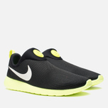 Мужские кроссовки Nike Rosherun Slip On Black/White Volt фото- 1