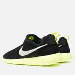 Мужские кроссовки Nike Rosherun Slip On Black/White Volt фото- 2