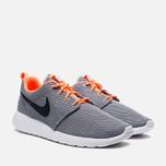 Мужские кроссовки Nike Rosherun Wolf Grey/ Black фото- 1