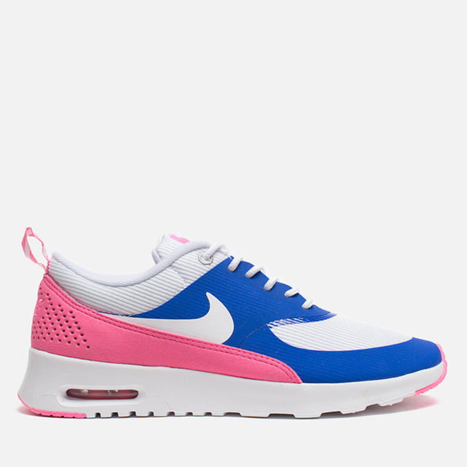 Женские кроссовки Nike Air Max Thea Game Royal White/Pink Glow