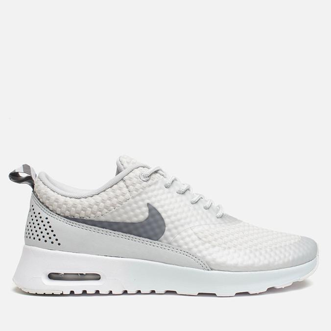 Женские кроссовки Nike Air Max Thea Premium Light Base Grey/Cool Grey/Metallic Silver/W