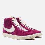 Женские кроссовки Nike Blazer Mid Suede Vntg Bright Magenta фото- 1