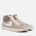 Женские кроссовки Nike Blazer Mid Suede Vntg Grey/White фото- 1