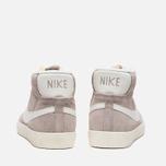 Женские кроссовки Nike Blazer Mid Suede Vntg Grey/White фото- 3