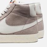 Женские кроссовки Nike Blazer Mid Suede Vntg Grey/White фото- 6