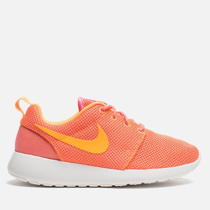 Женские кроссовки Nike Rosherun Pink Glow/Atomic Mango