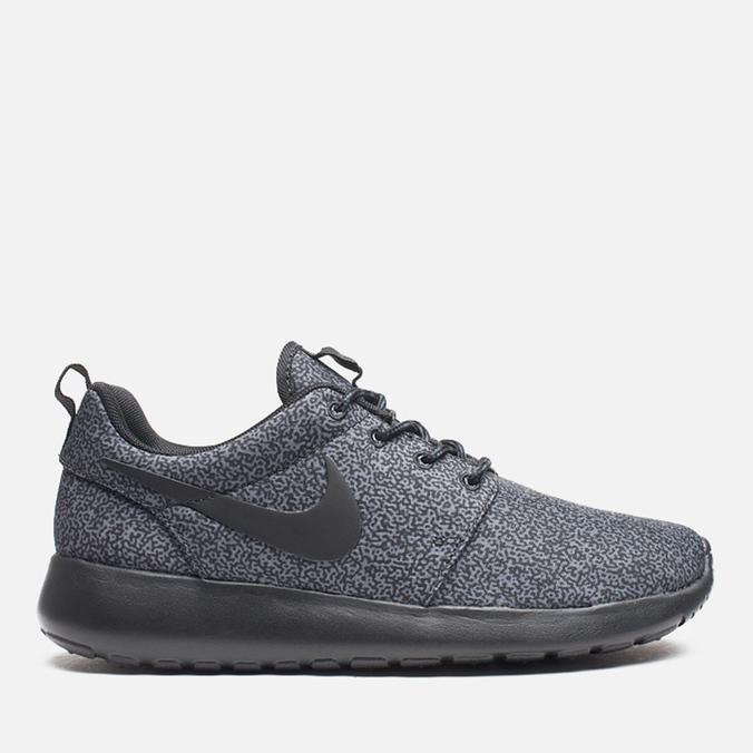 Женские кроссовки Nike Rosherun Print Anthracite/Black