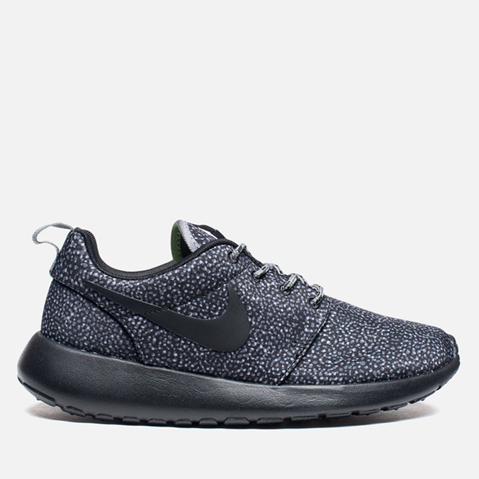 Женские кроссовки Nike Rosherun Print Cool Grey/Black