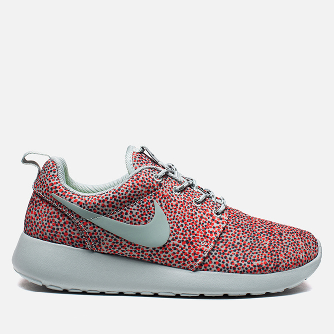 Женские кроссовки Nike Rosherun Print Turf Orange/Sea Spray