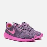 Женские кроссовки Nike Rosherun Print Wolf Grey фото- 1