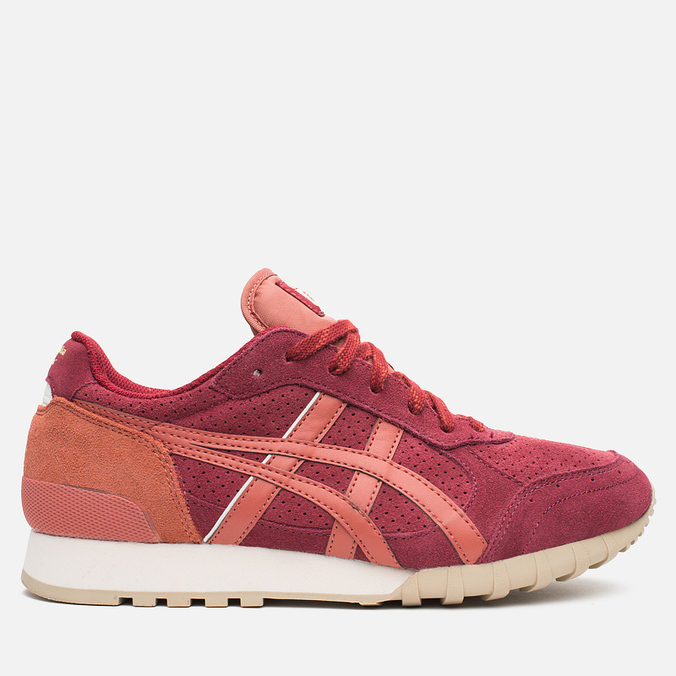 Мужские кроссовки Onitsuka Tiger Colorado 85 Burgundy/Red Tabasco