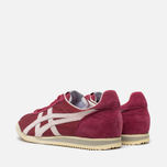 Мужские кроссовки Onitsuka Tiger Corsair Burgundy/White фото- 2