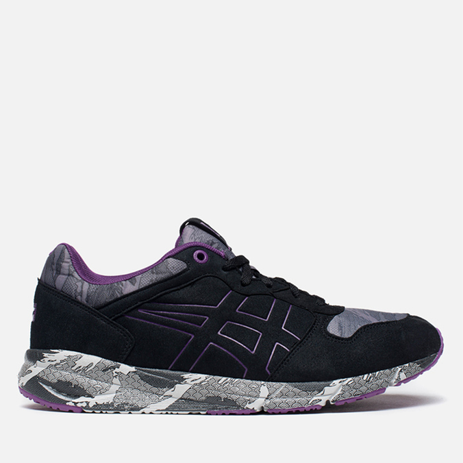 Мужские кроссовки Onitsuka Tiger Shaw Runner Black/Purple
