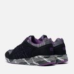 Мужские кроссовки Onitsuka Tiger Shaw Runner Black/Purple фото- 2