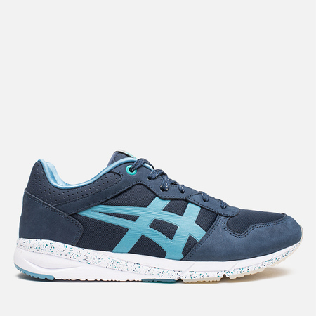 Мужские кроссовки Onitsuka Tiger x Offspring Desert Pack Shaw Runner Navy/Tropical Green