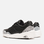Мужские кроссовки Puma R698 Snow Splatter Pack Black/White фото- 2