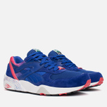 Мужские кроссовки Puma R698 Splatter Mazarine Blue/Teaberry Red фото- 1
