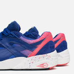 Мужские кроссовки Puma R698 Splatter Mazarine Blue/Teaberry Red фото- 7