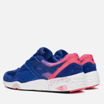 Мужские кроссовки Puma R698 Splatter Mazarine Blue/Teaberry Red фото- 2