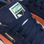 Мужские кроссовки Puma Suede Classic + Peacoat/Nasturtium фото- 6
