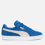 Кроссовки Puma Suede Classic + Strong Blue/White фото- 0
