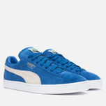 Кроссовки Puma Suede Classic + Strong Blue/White фото- 1