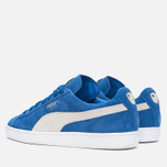 Кроссовки Puma Suede Classic + Strong Blue/White фото- 2