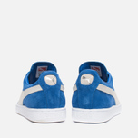 Кроссовки Puma Suede Classic + Strong Blue/White фото- 3