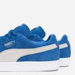Кроссовки Puma Suede Classic + Strong Blue/White фото- 7