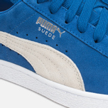 Кроссовки Puma Suede Classic + Strong Blue/White фото- 5