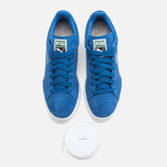 Кроссовки Puma Suede Classic + Strong Blue/White фото- 4