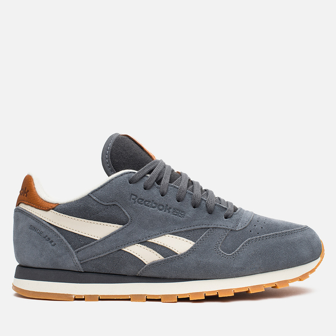 Мужские кроссовки Reebok Classic Leather CTM Soft Black/Paper White