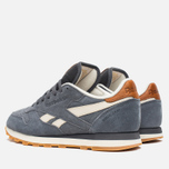Мужские кроссовки Reebok Classic Leather CTM Soft Black/Paper White фото- 2