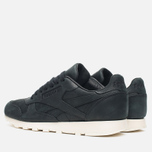 Мужские кроссовки Reebok Classic Leather Lux Black/Olympic Creme/Gold фото- 2