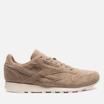 Мужские кроссовки Reebok Classic Leather Lux Canvas Olympic Creme/Gold фото- 0