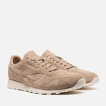 Мужские кроссовки Reebok Classic Leather Lux Canvas Olympic Creme/Gold фото- 1
