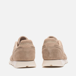 Мужские кроссовки Reebok Classic Leather Lux Canvas Olympic Creme/Gold фото- 3