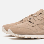 Мужские кроссовки Reebok Classic Leather Lux Canvas Olympic Creme/Gold фото- 5