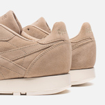 Мужские кроссовки Reebok Classic Leather Lux Canvas Olympic Creme/Gold фото- 6