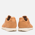 Мужские кроссовки Reebok Classic Leather Lux Horween Natural/Moon White/Black фото- 3