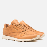 Мужские кроссовки Reebok Classic Leather Lux Horween Natural/Moon White/Black фото- 1