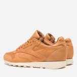 Reebok Classic Leather Lux Horween Sneakers Natural/Moon White/Black photo- 2
