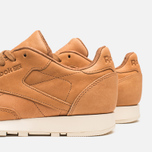 Reebok Classic Leather Lux Horween Sneakers Natural/Moon White/Black photo- 6