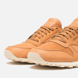 Мужские кроссовки Reebok Classic Leather Lux Horween Natural/Moon White/Black фото- 5