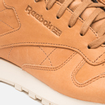 Reebok Classic Leather Lux Horween Sneakers Natural/Moon White/Black photo- 7